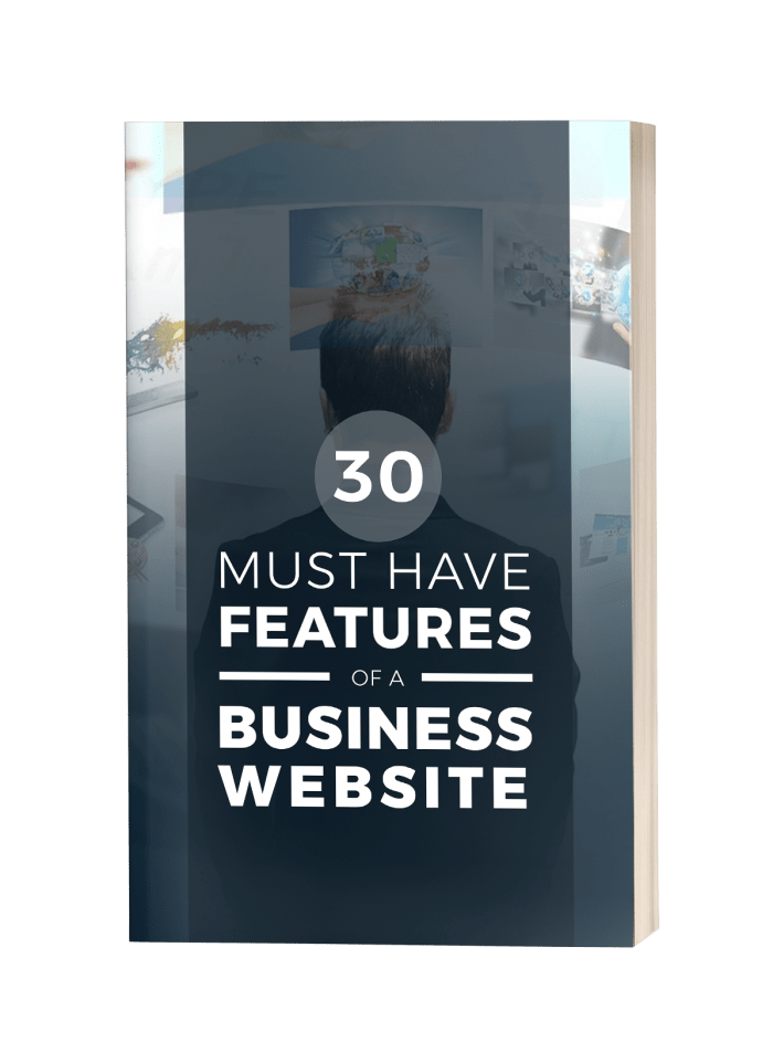 30 Must Have Features of a Business Website