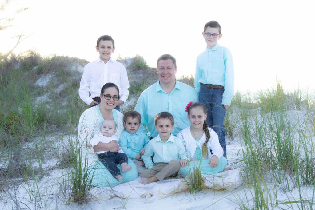 Jonas Troyer Family